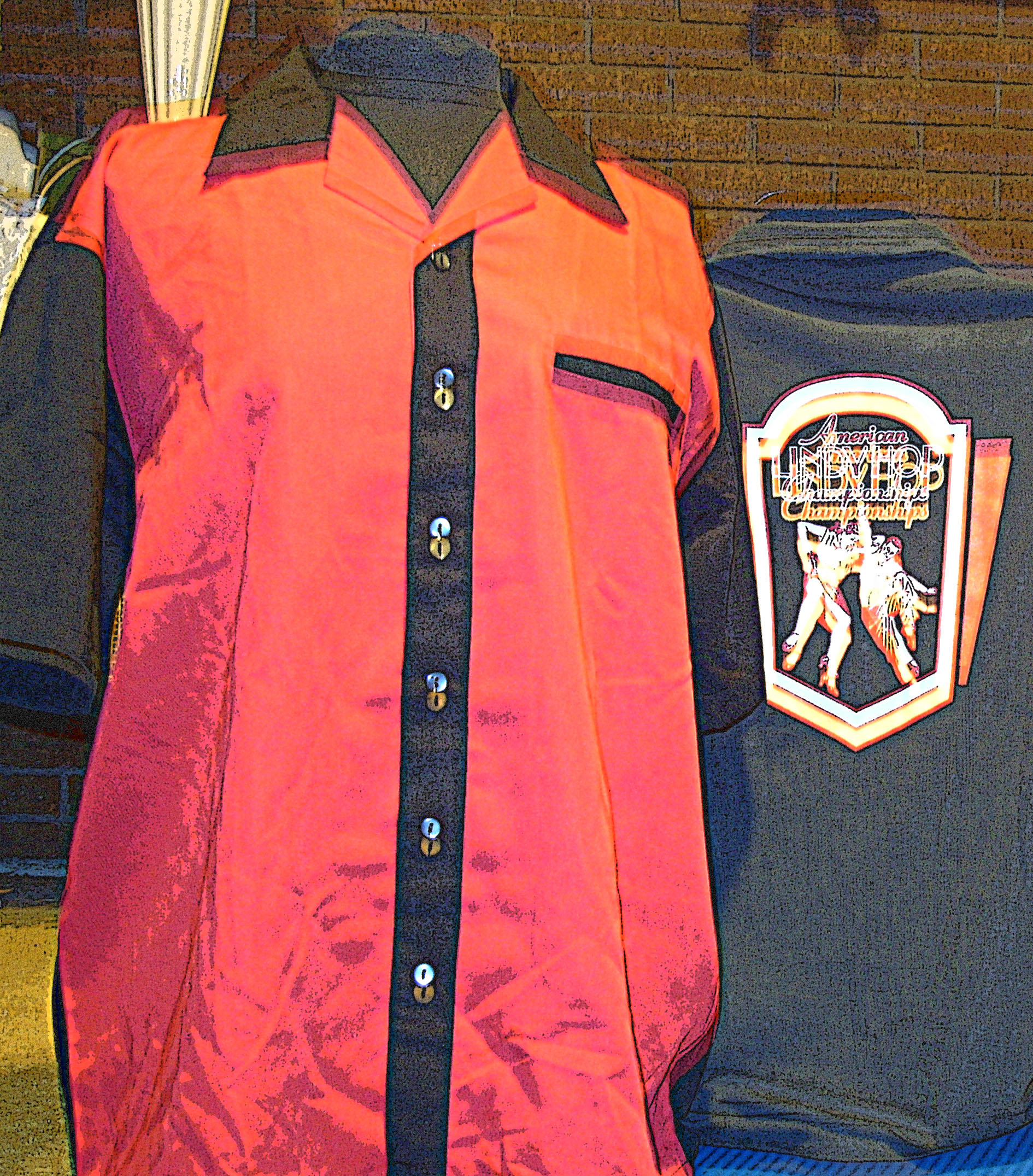 ALHC King Louie Bowling Shirt